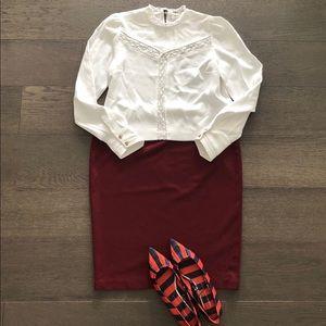 Women's Vince Camuto  pencil Skirt sz Large